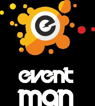 Eventman Logo Male White