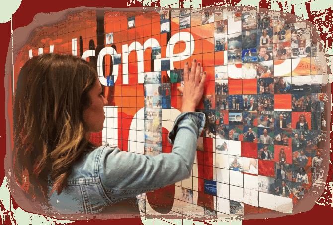 Mosaix - photo mosaic wall